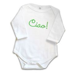 too cute... get the little one speaking italian early.
