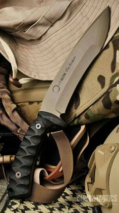 U.S. Elite Debuts Limited Edition Custom Knife On Veterans Day - The Kraden Tactical Fixed Knife Blade