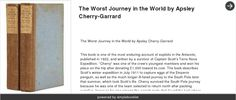 The Worst Journey in the World The Worst Journey in the World by Apsley Cherry-Garrard - made with simplebooklet.com