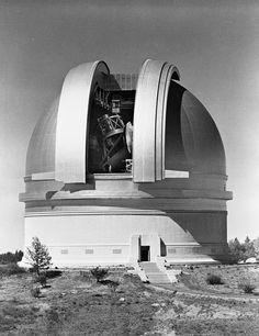 """onceuponatown: """" Building the 200 inch Telescope at Mount Palomar, """" Celestial Map, Earth News, Space Photos, Space And Astronomy, Flat Earth, Acropolis, Deep Space, Space Exploration, Science And Nature"""
