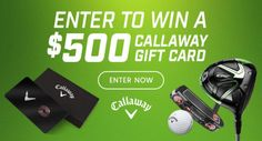 Win a Callaway Golf $500 gift card - 3 winners! {US} (7/31) via... IFTTT reddit giveaways freebies contests