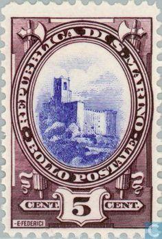 San Marino - Castle Rocca 1929