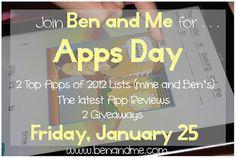 Ben's Top 10 Favorite Homeschool iPad Apps 2012 - Ben and Me