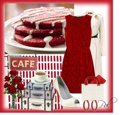 """""""Red Velvet"""" by pamlcs ❤ liked on Polyvore"""
