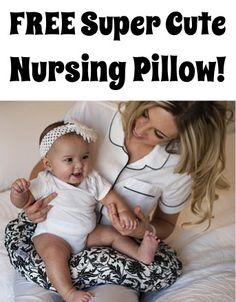 FREE Super Cute Nursing Pillow! {just pay s/h} ~ these make great Baby Shower gifts, too! #baby #thefrugalgirls