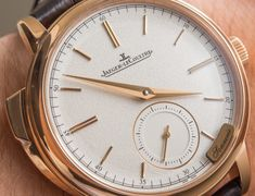 Jaeger-LeCoultre Master Grande Tradition Minute Repeater Watch Hands-On | aBlogtoWatch