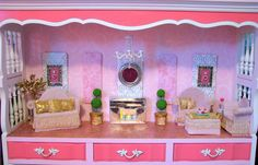 Turn a cracker box into a Barbie couch / sofa...Easy DIY 12 inch doll house furniture ideas