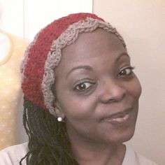 Khaki n Red Ladies Kerchief