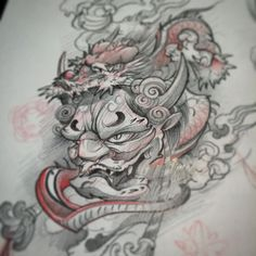 "3,347 Likes, 20 Comments - Damian Robertson (@damianrobertson) on Instagram: ""Warm up sketches.... For shits and gigs hit me up if you want this?! Not so serious. #yyc #hannya…"""