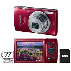 [Casas Bahia] Para retirar na loja Câmera Digital Canon Powershot ELPH135 R$ 149,90