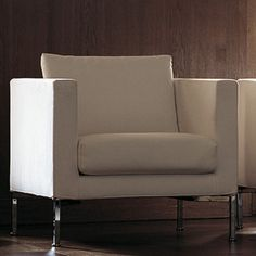 Box Chair designed by Piero Lissoni and manufactured by Living Divani. This product can be found in photography for the No Rules Collection (Tempt + Tangle).