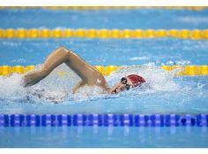 Stephanie Millward - bronze 400m freestyle