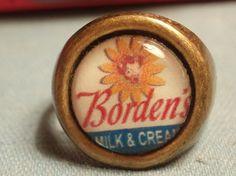 1960s Bordens Milk Elsie The Cow Adjustable Novelty by Jrtiques84, $6.00