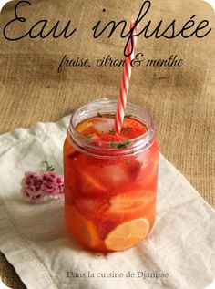 Une recette d'eau aromatisée tout en fraîcheur