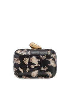 Kotur Morley Snakeskin Clutch Bag