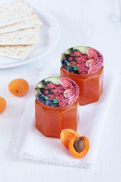 Mazurek kajmakowo-apricot - I know what I eat Panna Cotta, Honey, Pudding, Eat, Cooking, Ethnic Recipes, Desserts, Food, Amazing