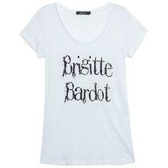 J. CHERMANN T-shirt linho Brigitte branc