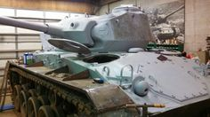 Another M-24 nears completion.