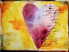 Love the writing around edge of heart  and size of heart.