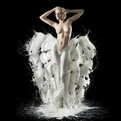 MILK - Calendar 2013 - Liquid Illustrations by Jaroslav Wieczorkiewicz, via Behance