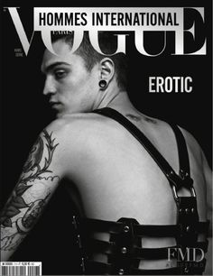 Cover of Vogue Hommes International , March 2008 (ID:9869)| Magazines | The FMD #lovefmd