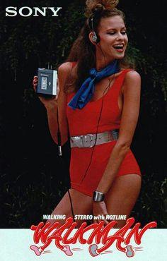 Sony Walkman 🎵💙🎶💛 ad advert advertising advertisement retro vintage Sony Walkman--we bought it despite this ad. 80s Ads, Retro Advertising, Retro Ads, Vintage Advertisements, Vintage Ads, Vintage Posters, 1980s, 80s Posters, Vintage Music