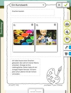 Kindergarten kigaportal elternarbeit portfolio ich freue for Herbstprojekt krippe