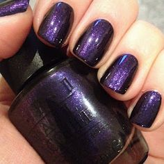 OPI Ink!...love dark nail polish!!