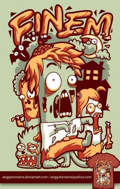 Zombie by anggatantama.deviantart.com