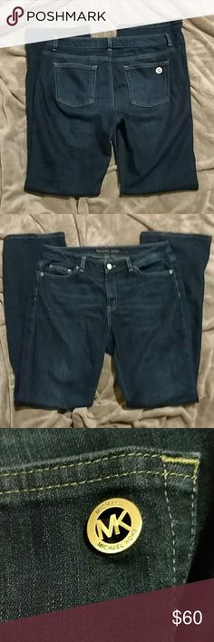 Michael Kors jeans Michael Kors jeans size 8 boot cut slight fraying at bottoms as shown barely noticeable Michael Kors Jeans Boot Cut