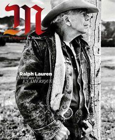 Le Monde M Magazine August 2013 Cover with Ralph Lauren