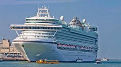 """I AM about to board my first-ever """"proper"""" cruise. By proper, I mean a 15-storey high-rise, floating hotel; the kind that has 2850 people waking each morning to a different port, intoxicated by the flip-book of new destinations. To say I'm excited is an understatement."""