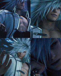 Ff Game, Tetsuya Nomura, Final Fantasy Vii Remake, Rwby, Bleach, Character Design, Darth Vader, Anime, Men