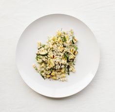 Barley Salad with Grilled Corn: