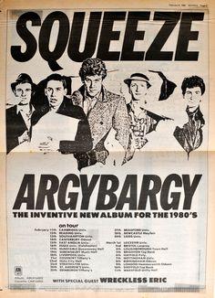 Squeeze – 25 February 1980 – live at Tiffany's Edinburgh | Packet of Three #stockbridgeedinburgh #stockbridge #edinburgh #scotland