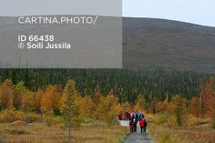Retkeilijät Vuontisjärvellä, Enontekiö (66438). harrastus, ihminen, ihmiset…