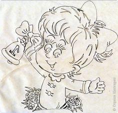 Картина панно рисунок Начало учебного года Вырезание Дети в школу собирайтесь Бумага фото 14