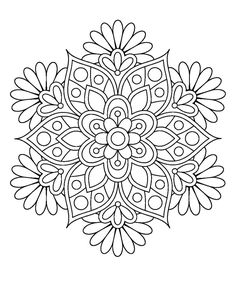 Easy Flower Mandala Coloring Pages. 30 Easy Flower Mandala Coloring Pages. Coloring Books Printable Mandalas Coloring Pages for Coloring Pages For Grown Ups, Free Coloring Pages, Printable Coloring Pages, Coloring Sheets, Coloring Books, Kids Coloring, Mandalas Painting, Mandalas Drawing, Mandala Coloring Pages