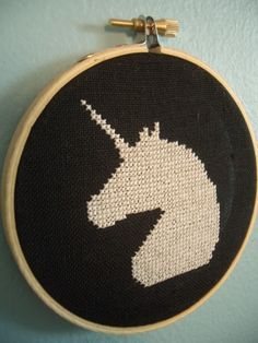 $35 Unicorn Cross Stitch