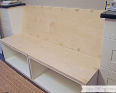 DIY Built-in Banquette | Cape27Blog.com