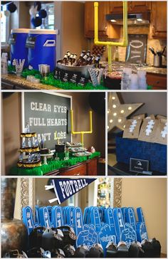 Baby's First Birthday | Boy | Football Party | Super Bowl Party