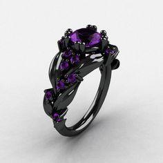 Estilo Victoriano Azul Oscuro Serpiente Cuero Caja para un y dos anillos con gol