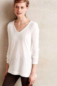 Long-Form Tee - anthropologie.com
