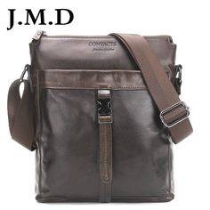 J.M.D Genuine Leather Men Bags Hot Sale Male Messenger Bag Man Fashion Crossbody Shoulder Bag Men's Travel New 2017 Bags