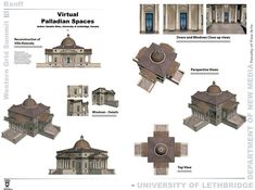rotonda_poster Andrea Palladio, Theatrical Scenery, Study Architecture, Pet Carriers, Top View, Case Study, Improve Yourself, Literature, History