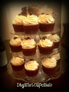"Wednesday's Cupcakes! ""My Coffee/Espresso Cupcakes <3"