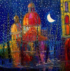 Night Painting, by Justyna Kopania