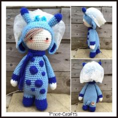 Pixie-Crafts • New order complete today. This is a blue Ginny...