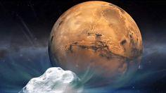 Ongewone gebeurtenis in de ruimte: komeet scheert langs Mars - AD.nl