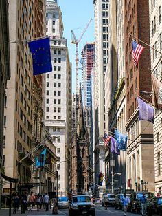 NYC. Financial District. Trinity Church   Flickr: Tamar Marie